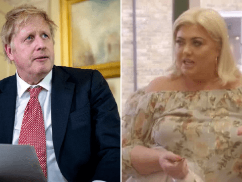 Gemma Collins compares herself to Boris Johnson as she throws a strop over waiting for a cup of coffee during self-isolation