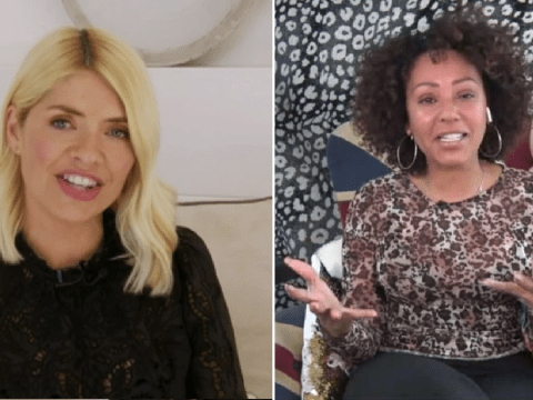Holly Willoughby shares rare glimpse at swanky home as she films Celebrity Juice from sofa