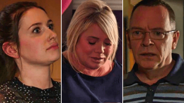 Dotty, Sharon and Ian in EastEnders