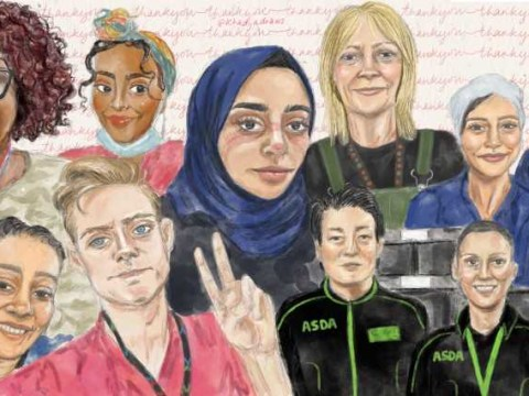 Artist draws all types of key workers including NHS and supermarket staff to honour them