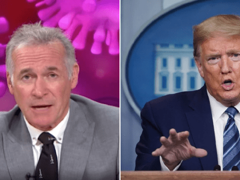 Dr Hilary attacks Donald Trump's bizarre coronavirus disinfectant theory in powerful speech: 'Don't inject poison into yourself'
