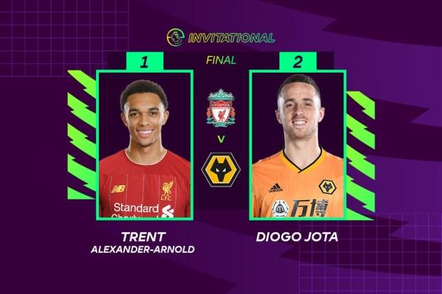 Diogo Jota vs. Trent Alexander-Arnold