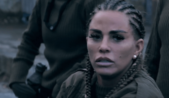 Katie Price on SAS: Who Dares Wins