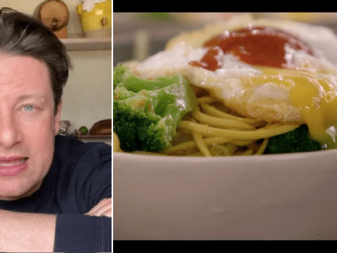 Jamie Oliver shows you how to make a quick and easy hangover noodles recipe on latest Keep Cooking and Carry On
