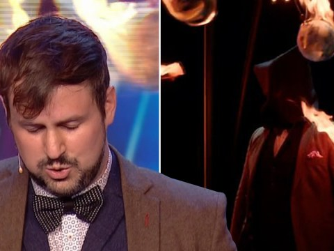 Britain's Got Talent magician Kevin Quantum took 18 months to master trick that went horribly wrong