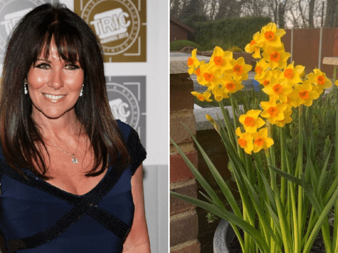 Linda Lusardi is feeling better as she spends day in the sun after coronavirus ordeal