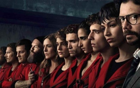Which country is Money Heist set in and where is it filmed?