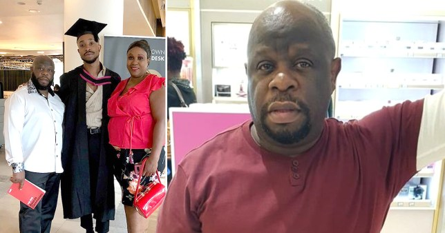 Family of nurse Thomas Harvey, who worked at Goodmayes Hospital in Ilford, north London and died in self-isolation after treating a coronavirus patient