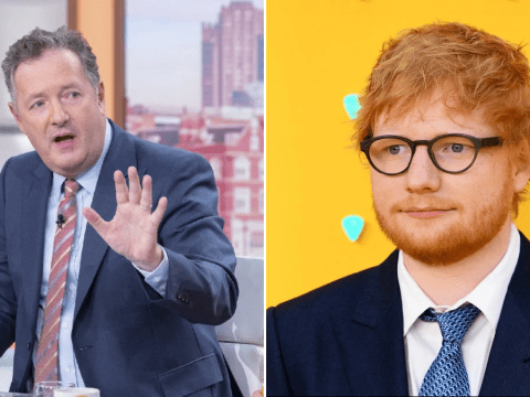 Piers Morgan praises Ed Sheeran for not furloughing staff during pandemic: 'There's a message for the Beckhams of the world'