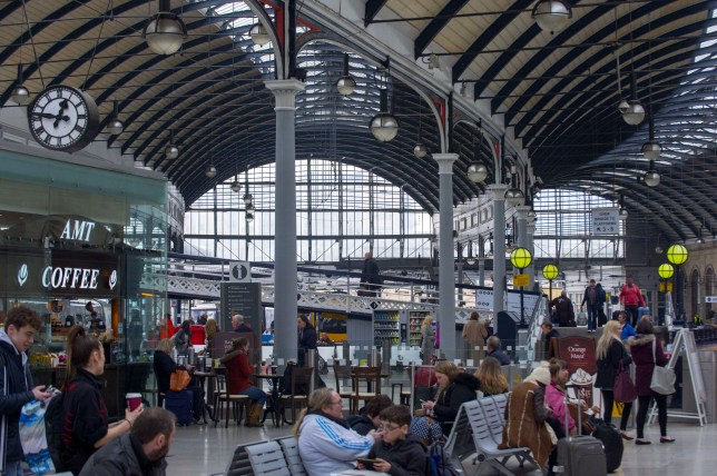 Newcastle Central Station (Picture: Rex Shutterstock)