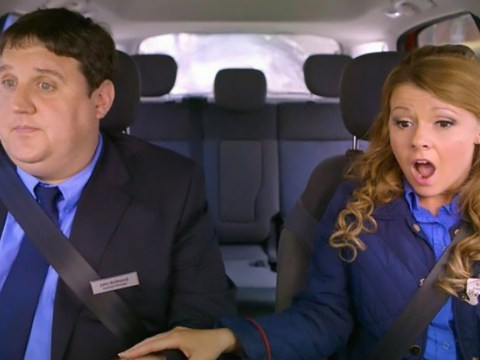 Peter Kay slammed by mums for making 'offensive' breastfeeding joke during Car Share with Sian Gibson
