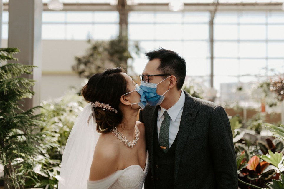 Molly Lin, 30, and Sing-Chi Lam, 32, getting married in a greenhouse on 11 april