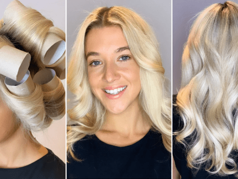 Hairdresser shows how to get perfect curls with 10 empty toilet roll tubes