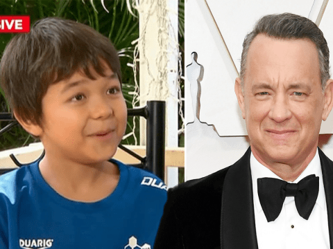 Tom Hanks tells boy bullied because his name is Corona 'you've got a friend in me' in heartfelt letter