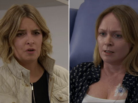 Emmerdale spoilers: Vanessa Woodfield distraught as she orders Charity Dingle to leave amid cancer treatment