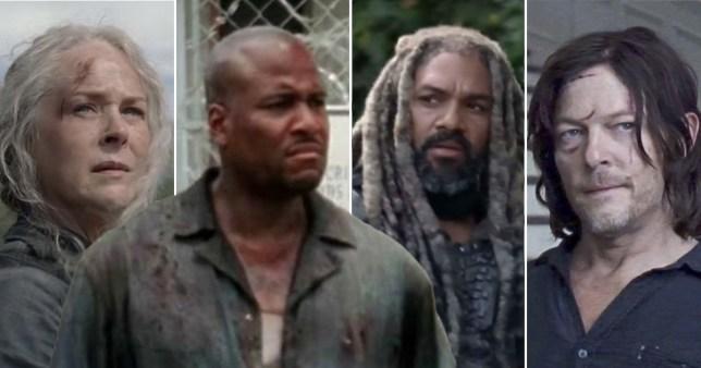 The Walking Dead's Vincent M Ward
