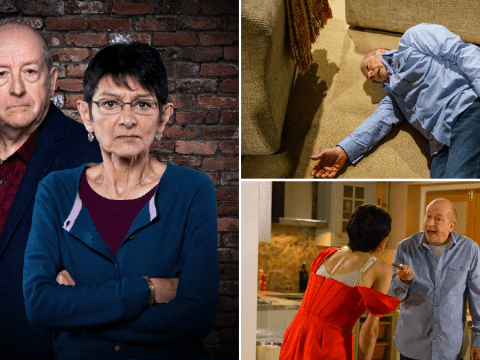 Coronation Street spoilers: 23 new images reveal Geoff death horror as Yasmeen lashes out, shock diagnosis and huge return