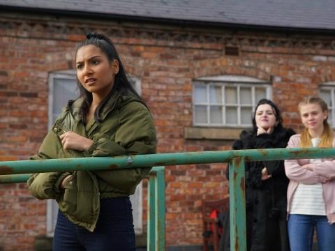 Coronation Street spoilers: Asha Alahan flees after new sex shame trauma