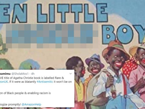 Amazon sparks accusations of racism for selling 'Ten Little N****r Boys' book