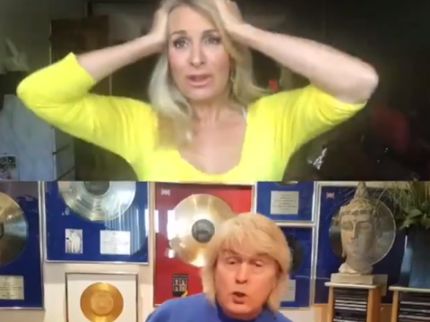 Bucks Fizz lift spirits with online performance of their Eurovision winning classic Making Your Mind Up