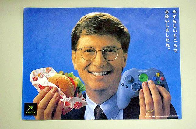 Xbox Bill Gates ad