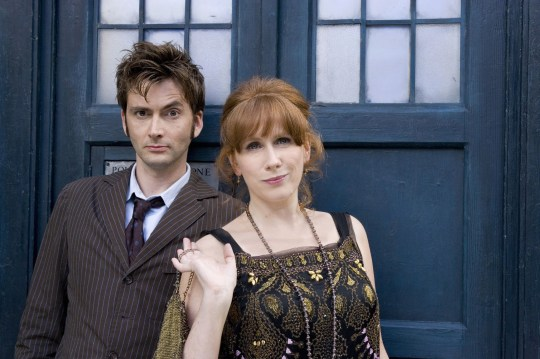 Catherine Tate as Donna Noble and David Tennant as the Doctor in Doctor Who