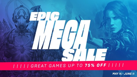 Epic Games Mega Sale
