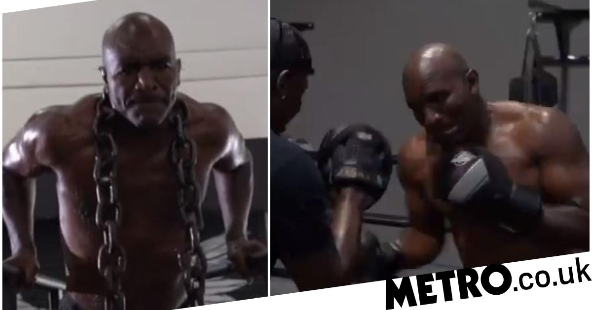 Evander Holyfield responds to Mike Tyson again with incredible training video featuring Wladimir Klitschko - Metro.co.uk