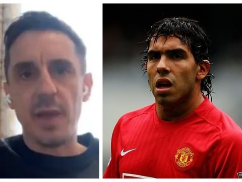 Gary Neville slams Carlos Tevez for 'messing around' at Manchester United