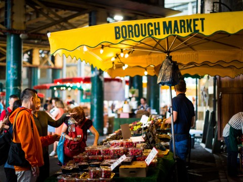You can now 'click and collect' artisan foods from Borough Market's drive-through