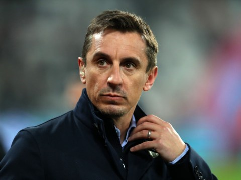 Gary Neville admits David Ginola made him nervous during Manchester United's treble-winning season