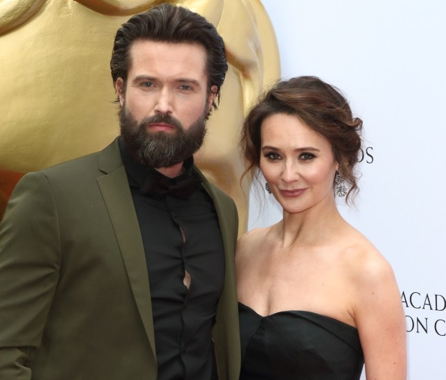 Emmett J Scanlan and Claire Cooper at the British Academy (...