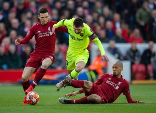 Lionel Messi faisait partie de l'effondrement de Barcelone contre Liverpool à Anfield la saison dernière