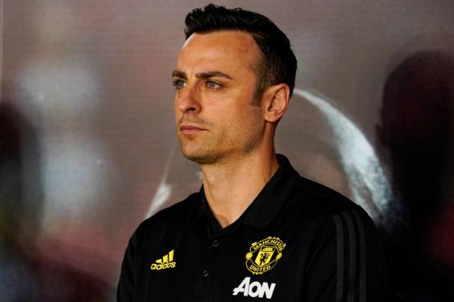 Dimitar Berbatov spent four years at Manchester United