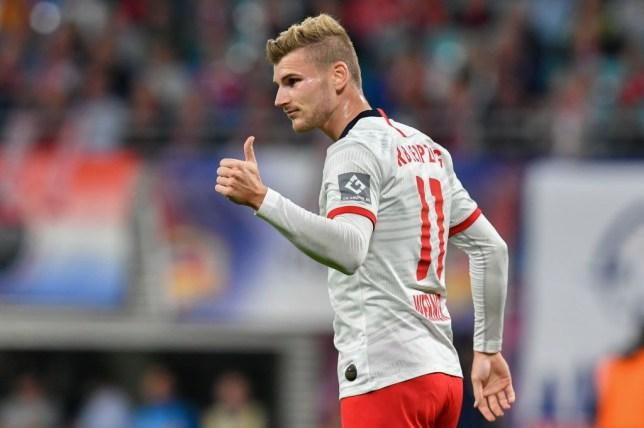 RB Leipzig forward Timo Werner