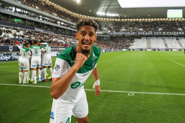 William Saliba is due to return to Arsenal imminently following his loan spell at Saint-Etienne