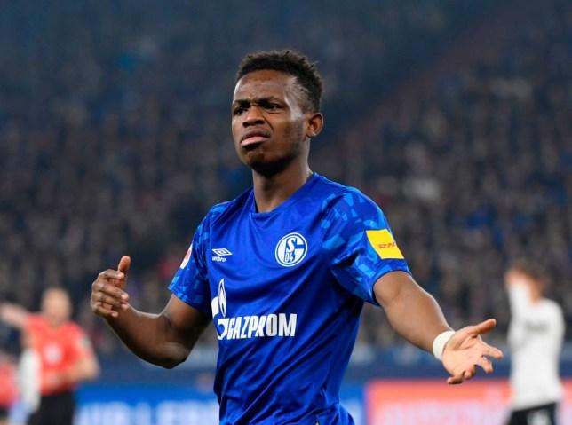 Schalke's Rabbi Matondo