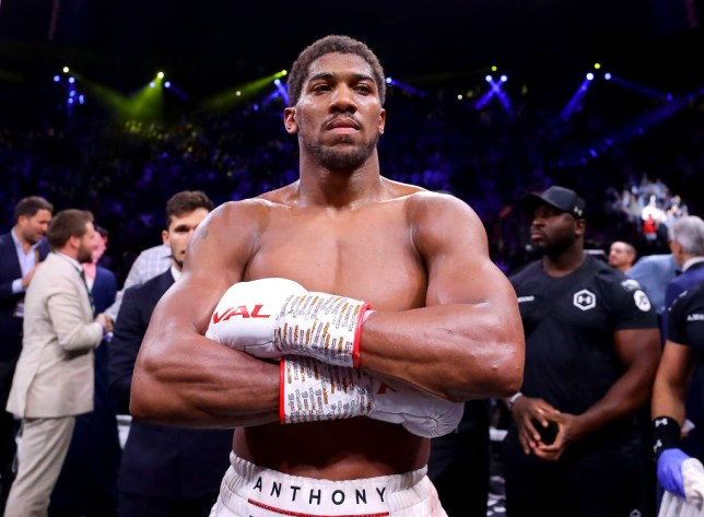 anthony joshua fires warning to mike tyson ahead of roy jones jr fight metro news mike tyson ahead of roy jones jr fight