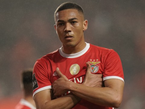 Benfica turn down bid and reiterate huge asking price for Liverpool and Man Utd target Carlos Vinicius