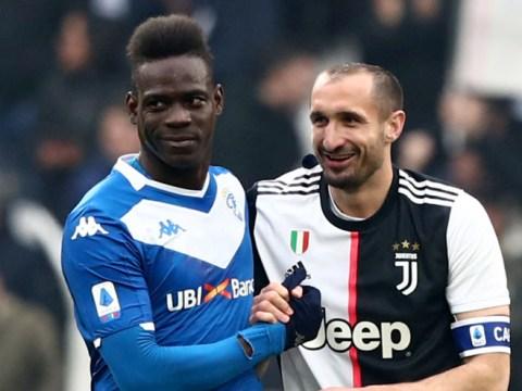 Giorgio Chiellini: Mario Balotelli 'deserved a slap' and ex-Juventus midfielder Felipe Melo was a 'rotten apple'