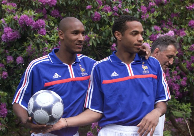 Nicolas Anelka left for Real Madrid the summer Thierry Henry joined Arsenal (Picture: Getty)