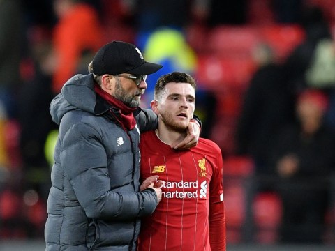 How Jurgen Klopp convinced Andrew Robertson he was good enough to play for Liverpool