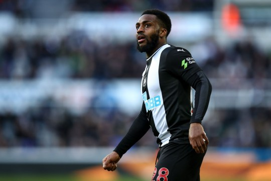 Danny Rose looks on during Newcastle United's Premier League match with Burnley