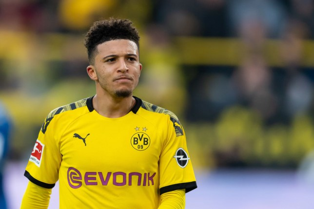 Jadon Sancho has started on the bench for all three of Borussia Dortmund's games since the Bundesliga restarted (Getty Images)