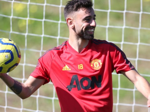 Daniel James and Teden Mengi beat Bruno Fernandes in Manchester United's top speed test
