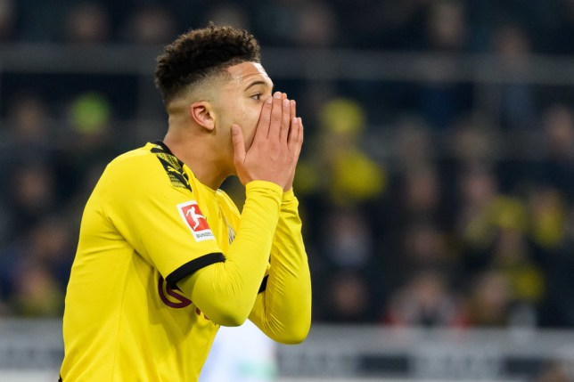 Borussia Dortmund winger Jadon Sancho