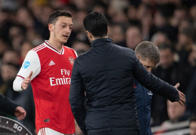 Mesut Ozil has been revitalised at Arsenal following the appointment of Mikel Arteta