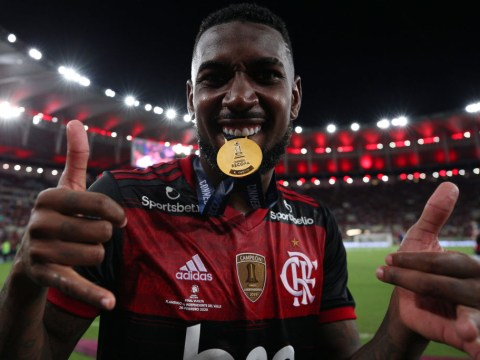 Gerson's father claims Arsenal and Tottenham are interested in signing midfielder