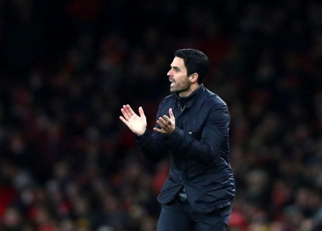 Arsenal FC manager Mikel Arteta