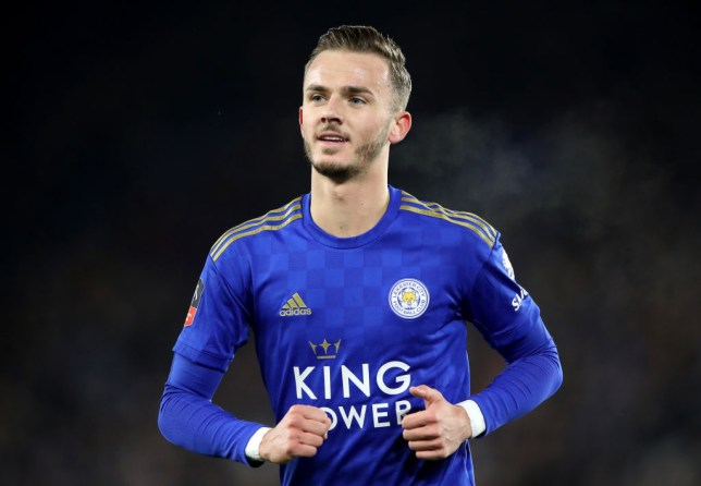 Leicester City player James Maddison